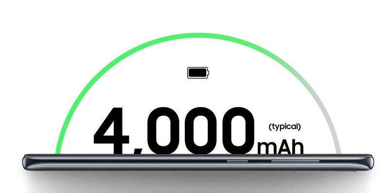4000mAh Typical Battery