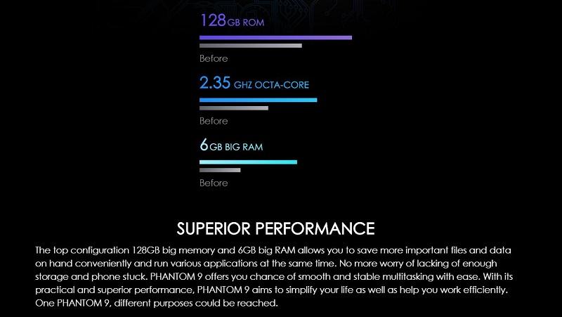 Phantom 9 Superior Performance