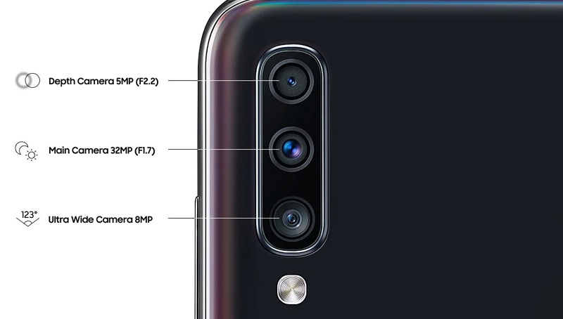 Samsung Galaxy A70 Triple Camera