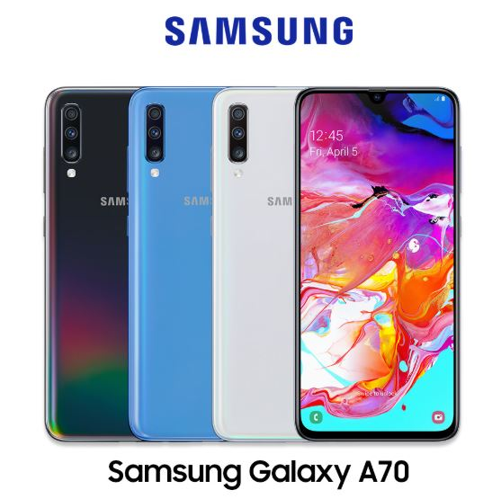 Samsung Galaxy A70 colors