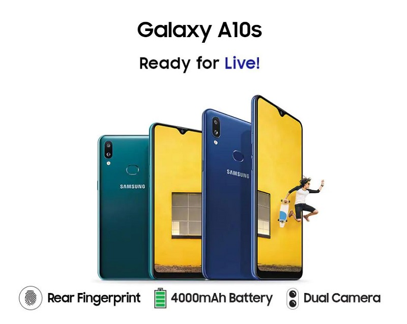 Samsung Galaxy A10s Key Specifications