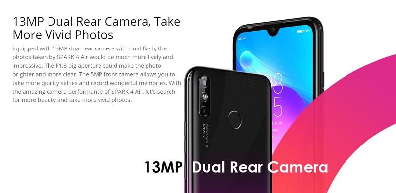 13MP Dual Rear Camera