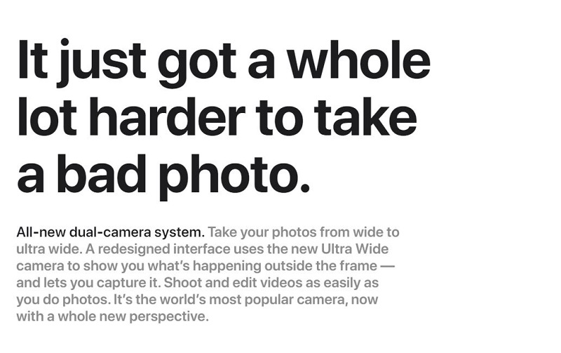 All New Dual Camera System