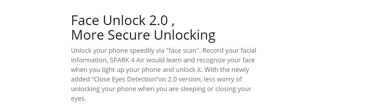 More Secure Unlocking Features