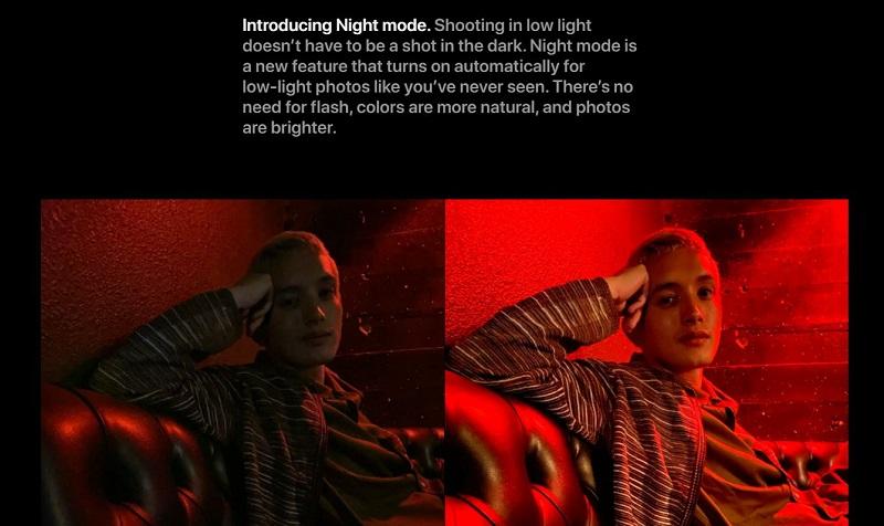 Night Mode Photo Capture