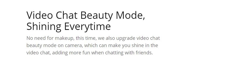 Upgraded Video Chat Features