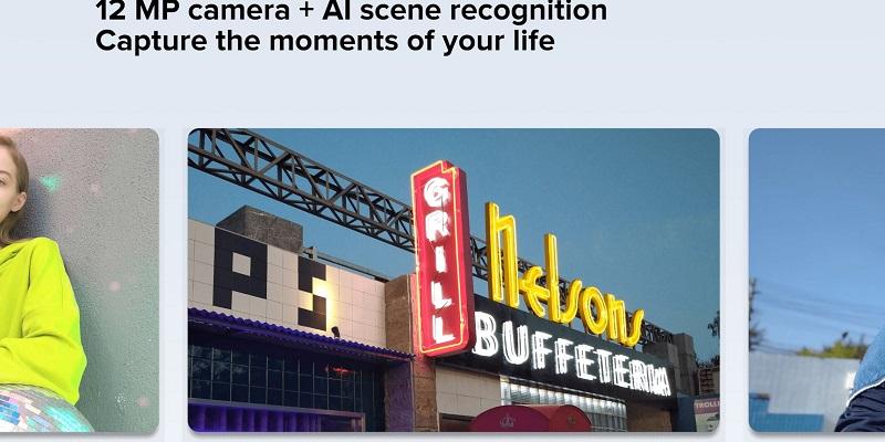 12 MP Camera Plus Scene Recognition Capture