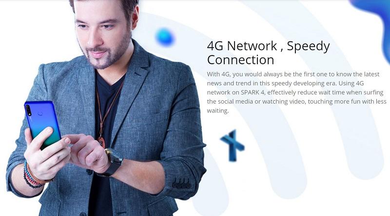 4G Speedy Network Connection