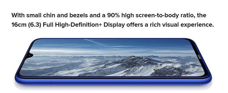 90% Screen-to-Body Ratio
