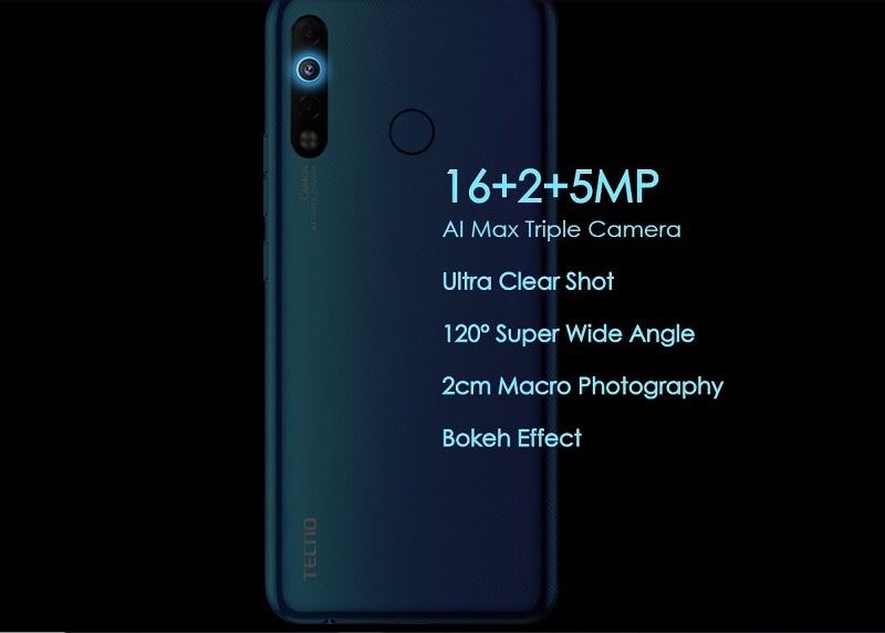 AI Max Triple Camera