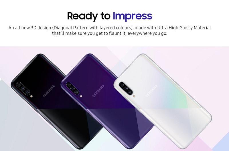 Galaxy A30s Premium Colors