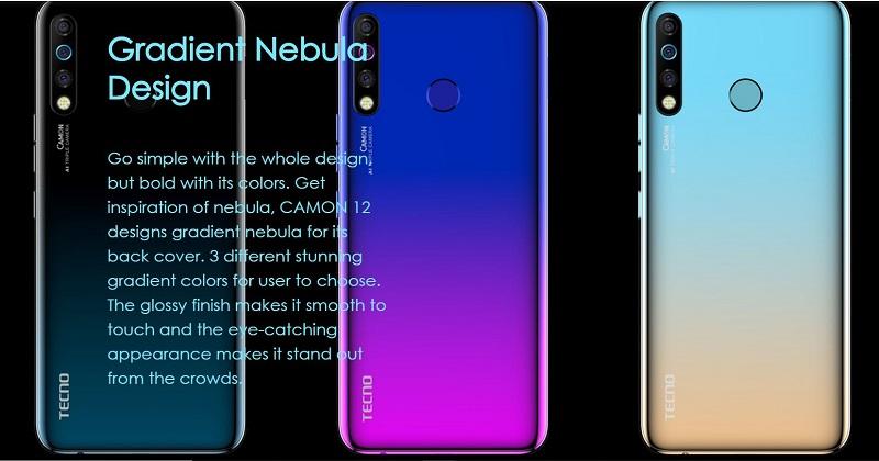 Gradient Nebula Design