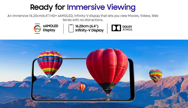 Immersive 6.4 Inches Viewing