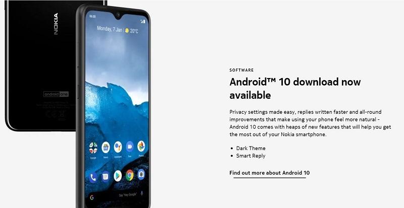 Nokia 6.2 Android 10