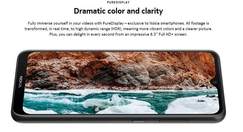 Nokia 6.2 Pure Display