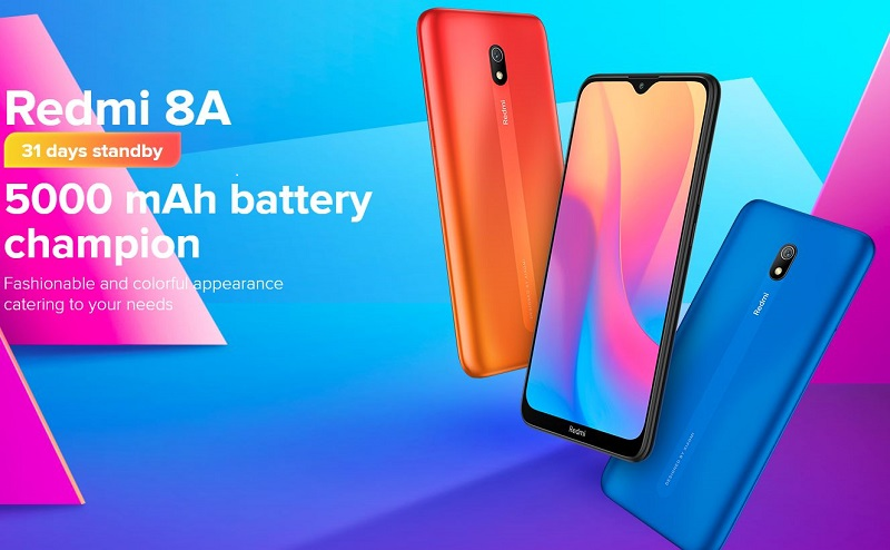 Redmi 8A 500mAh Battery Capacity