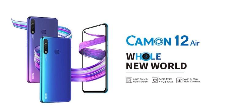 Tecno Camon 12 Air Features