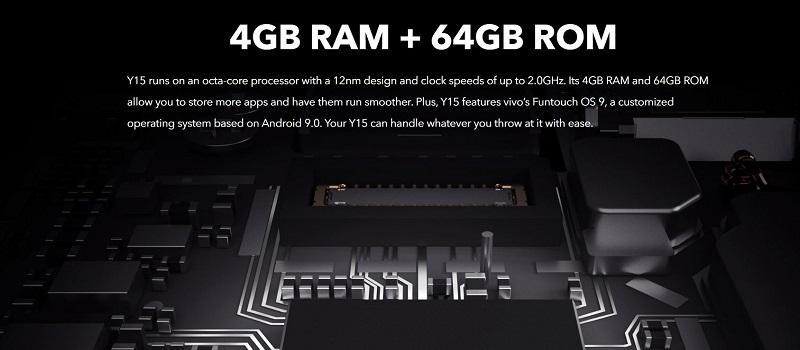 Vivo Y15 Octa-Core Processor