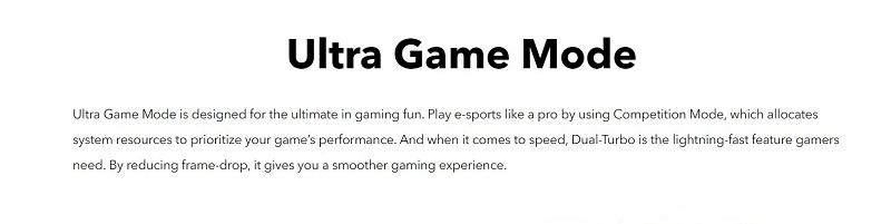 Y15 Ultra Gaming Mode
