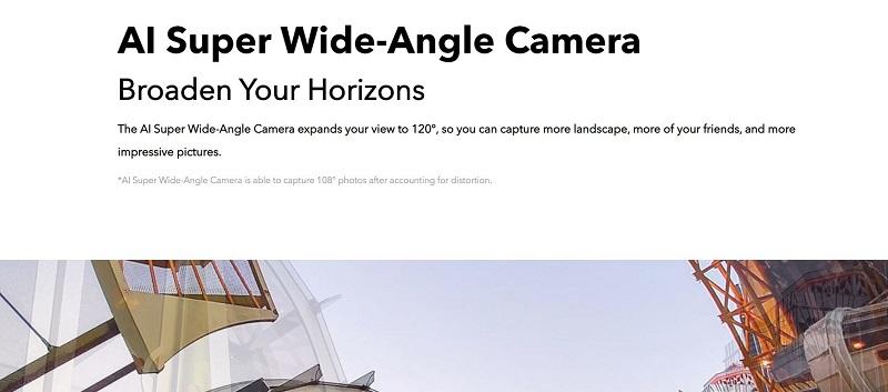 Y17 AI super Wide-Angle Camera
