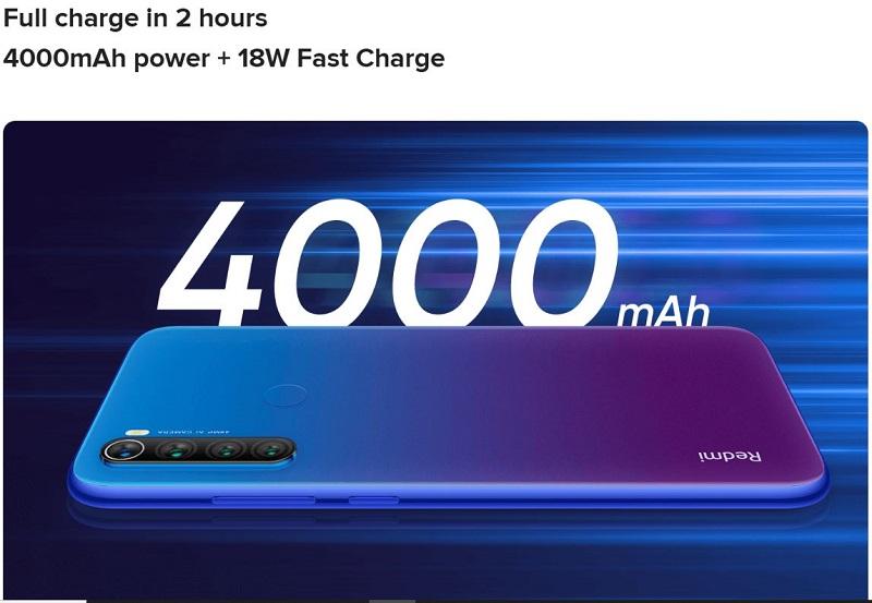 4000mAh Massive Battery