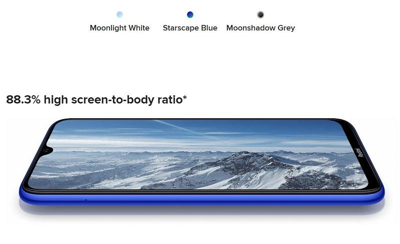 High Screen To Body Ratio