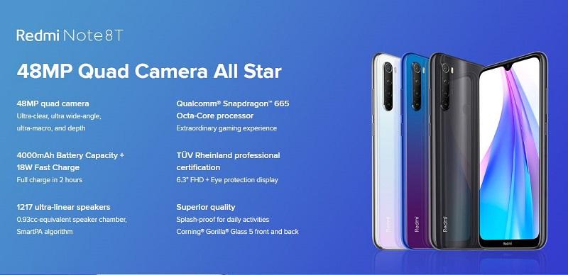 Redmi Note 8T Super Camera