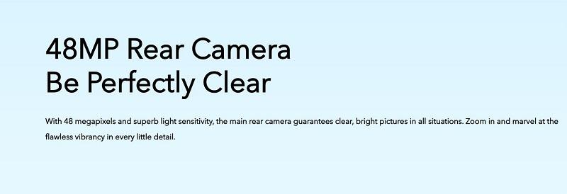 V17 Pro 48 Megapixel Rear Camera