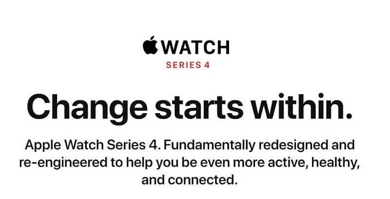 Apple Watch Series 4 Features