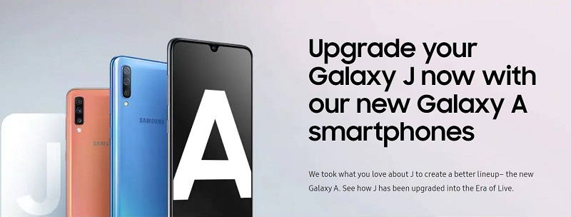 Galaxy A Series Smartphone Experience