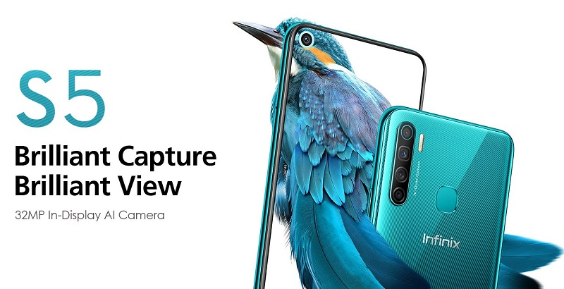 Infinix S5 In-Display AI Camera
