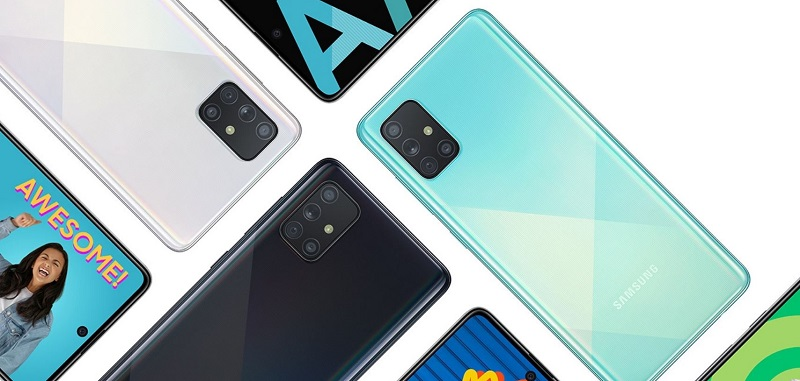 Samsung A71 Features
