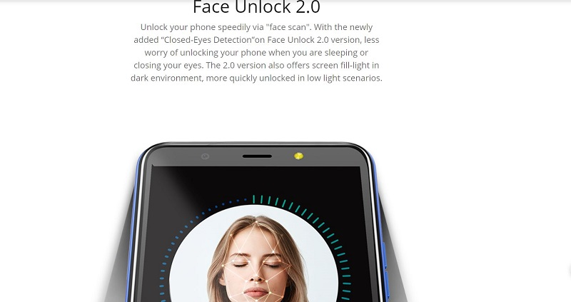 Tecno Pop 3 Face Unlock