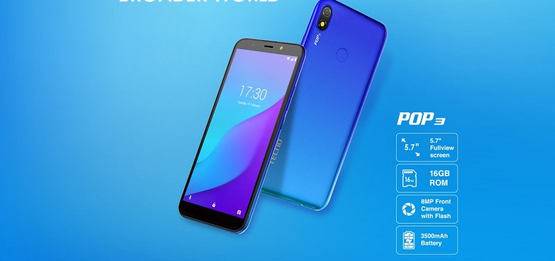 Tecno Pop3 Key Specs