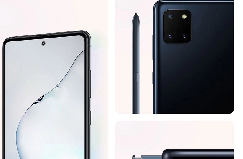 Galaxy Note 10 Lite Display