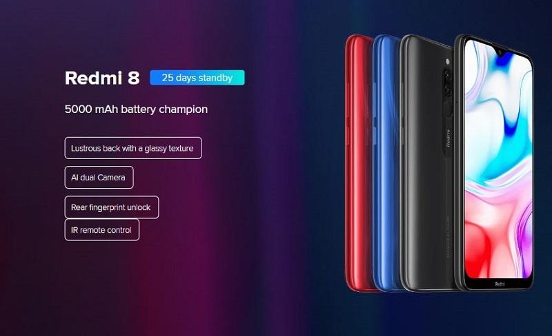 Redmi 8 powerful battery