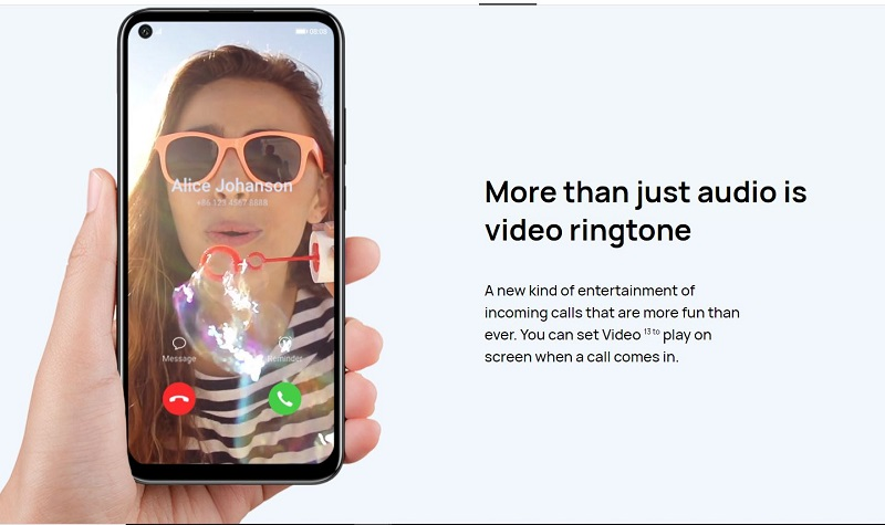 Comes With Video Ringtone