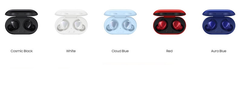 Galaxy Buds Plus Color Variants