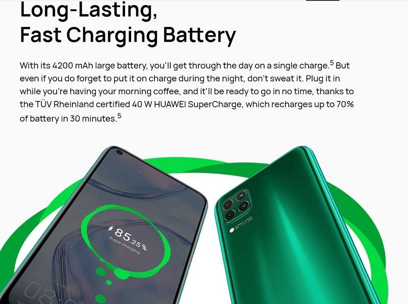 Long Lasting. Fast Charging Battery