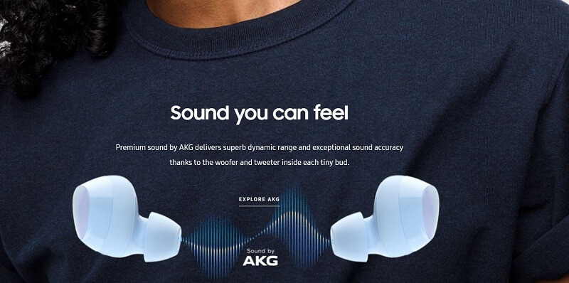 Samsung Galaxy Buds Plus Dynamic Rang and Exceptional sound Accuracy
