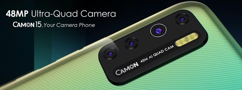 Powerful Quad Cameras