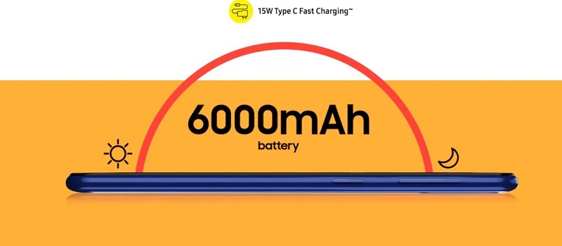 15 Watt Type-C Fast Charging
