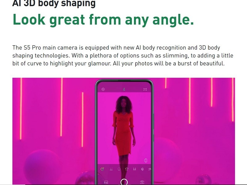 AI 3D Video Body Shaping