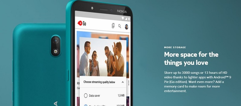 Ample Storage For the Nokia c2