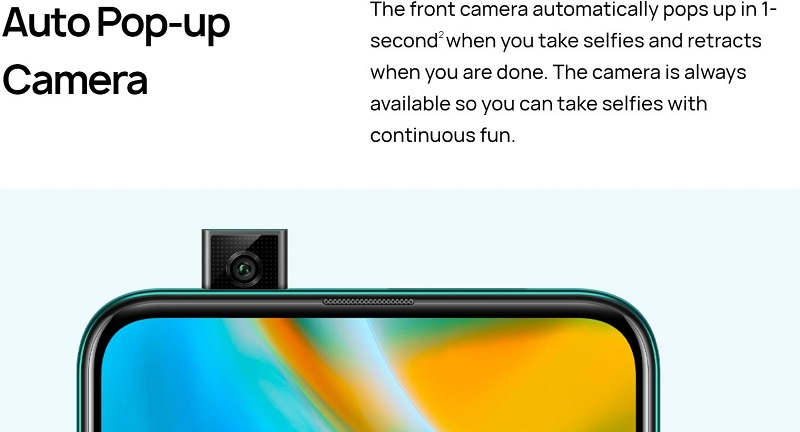 Auto Pop-Camera
