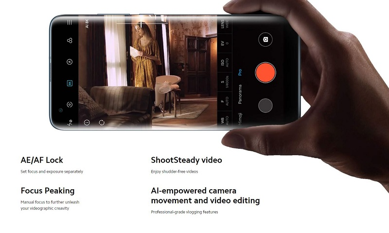 Camera Pro Mode