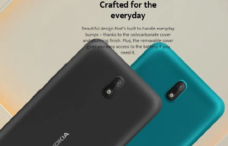 Nokia C2 is well crafted for everyday use