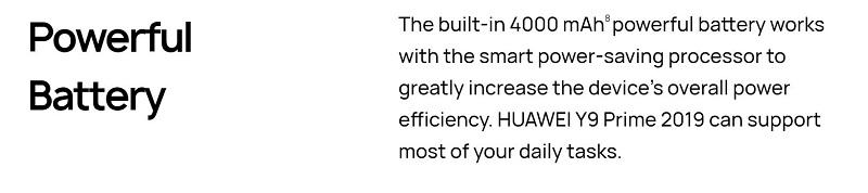 Powerful Battery Capacity