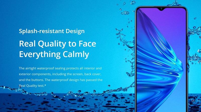 Quality Splash Resistant Design
