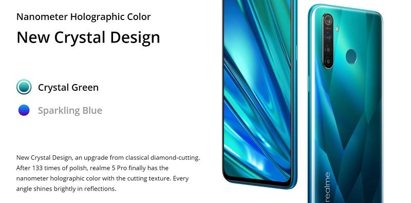 Realme 5 Pro Colors